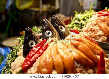 Korean fish hot pot