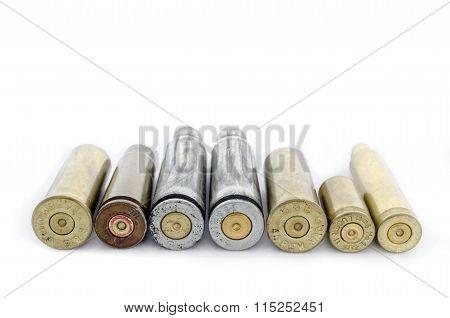 Cartridges Lying In The Range