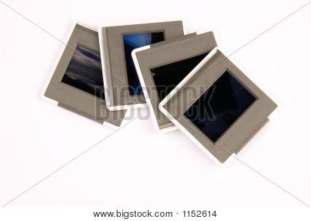 Slides Isolated On White Background