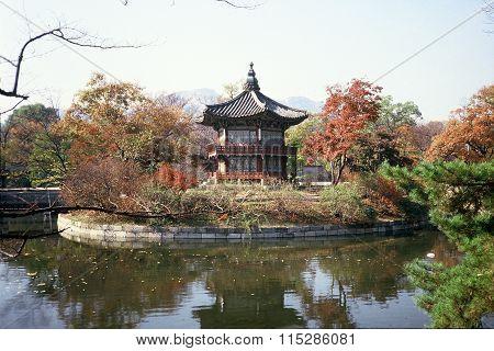 Pavilion at the Gyeongbok Palace