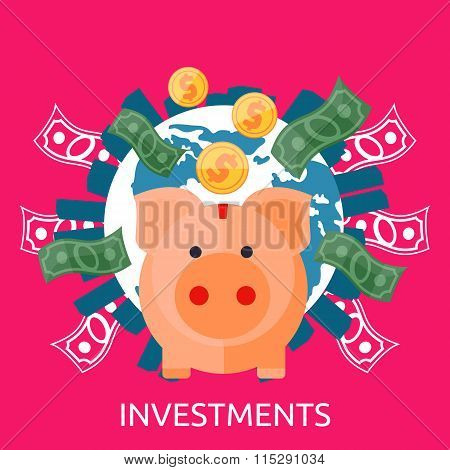 Investment Piggy Bank