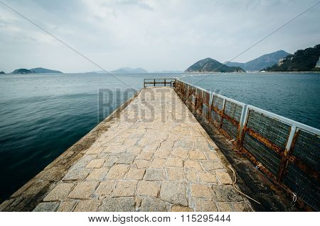 Pier At Repulse Bay, In Hong Kong, Hong Kong.