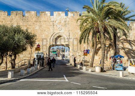 Dung Gate Old City of Jerusalem