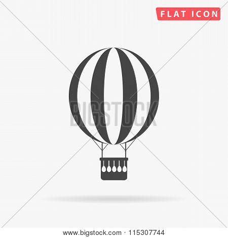 air balloon simple flat icon