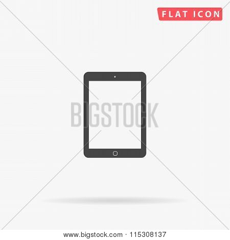 Tablet simple flat icon