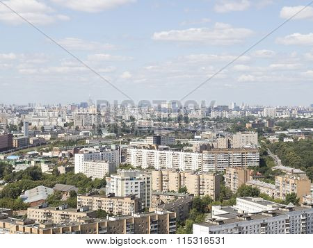 Moscow Sokolniki District Landscape