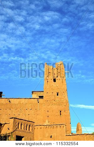 Africa  In Historical Maroc  Old Construction   Sky