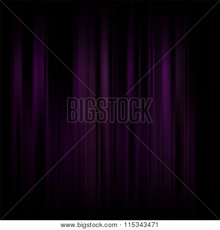 Abstract Background. Motion Dark Violet Vertical Lines. Vector