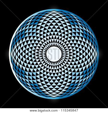 Torus Yantra, Hypnotic Eye Sacred Geometry