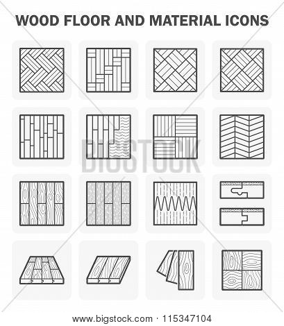 Wood Floor Icons