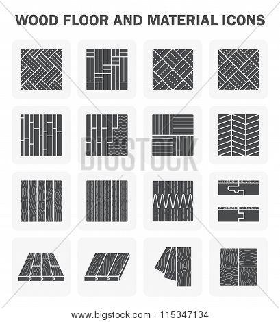 Wood Floor Icons