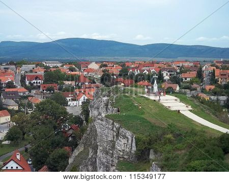 View from Chapel Hill in Veszprem ( Hungary )