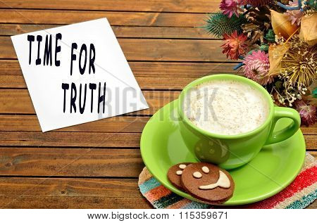 Time For Truth Text