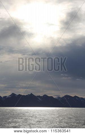 Norvegian Sea. Spitsbergen