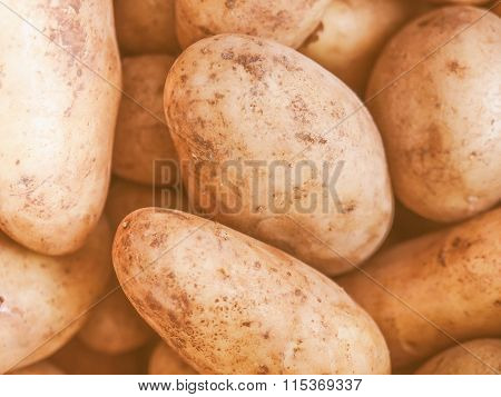 Retro Looking Potato Vegetable