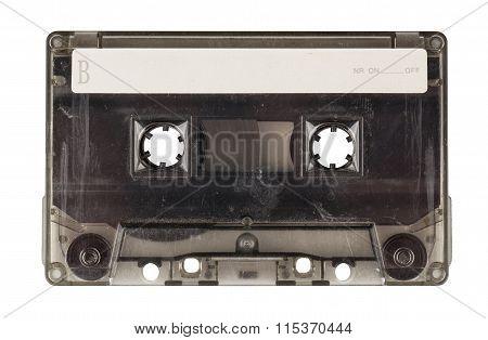 Vintage Transparent Compact Cassette