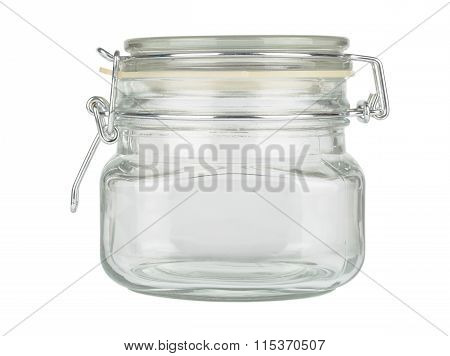 Glass Jar With Cap