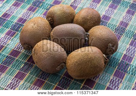 The Ripe Kiwifruits