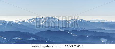 Blue Mountain Peaks