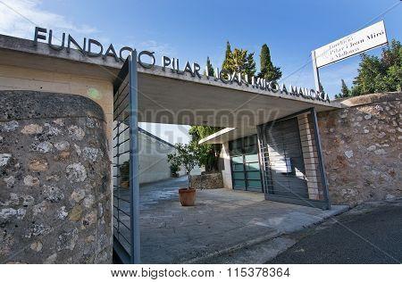Miro Museum Entrance