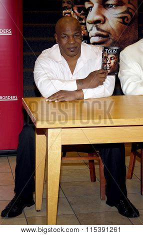 Mike Tyson promotes the Blu-ray and DVD