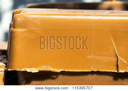 Beeswax Closeup