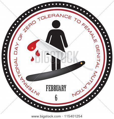 Stamp Female Genital Mutilation