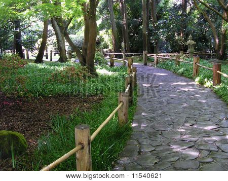 Garden Path in New York