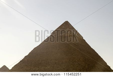 Pyramid Of Khafre In The Sunlight
