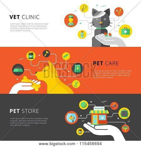 Veterinary Horizontal Banners