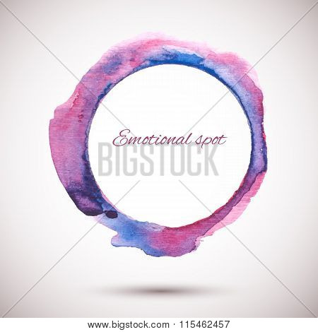 Watercolor-ring-violet-pink