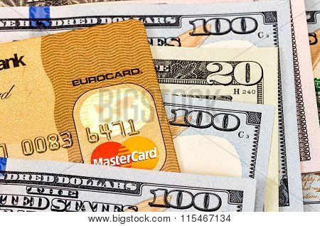 Credit Card Mastercard With American Dollars