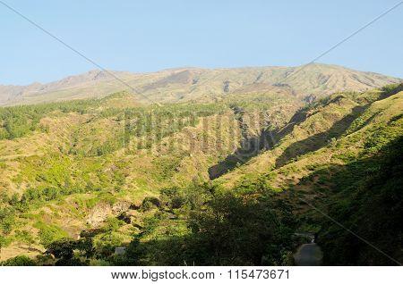 Dry River Source In Serra