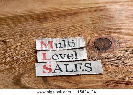 Mls- Multi Level Sales