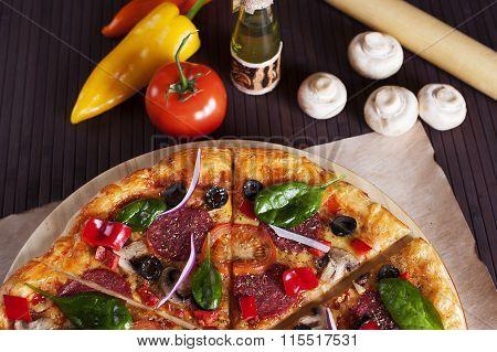 Pizza Slice Lift