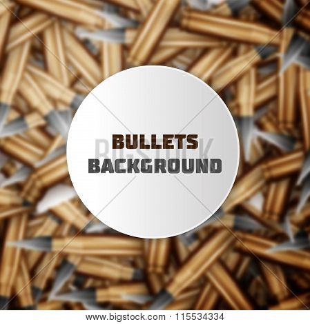 Bullets colorful background