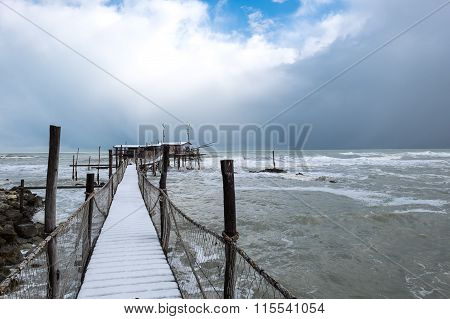 The Coast Of The Trabocchi