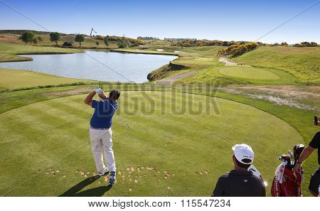 John Brooks At The Golf French Open 2015