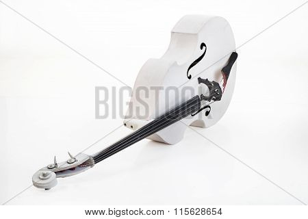White Double Bass