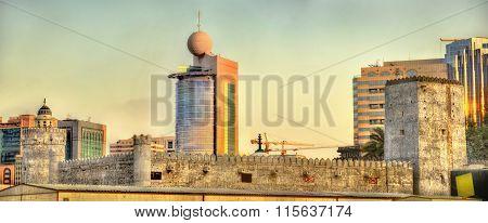 Qasr Al-hosn, An Ancient Fort In Abu Dhabi, Uae
