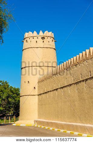 Sheikh Sultan bin Zayed Al Nahyan Fort in Al Ain - UAE poster