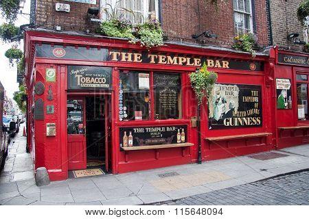 Temple Bar at Dublin