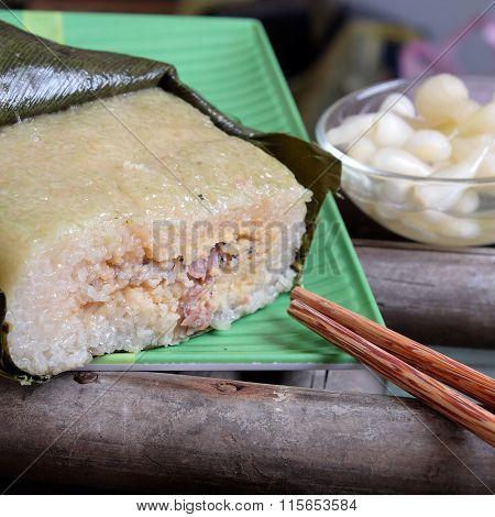 Vietnamese Food, tet, Banh Chung, Traditional Food