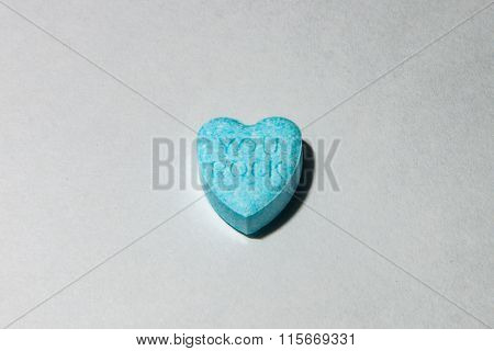 You Rock On A Candy Heart