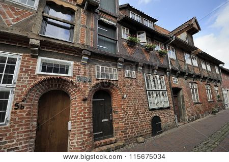 Old Half-timbered House, Luneburg, Germany