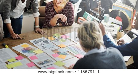 Cooperation Corporate Achievement Teamwork Concept