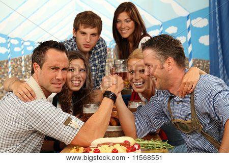 bavarian arm wrestling