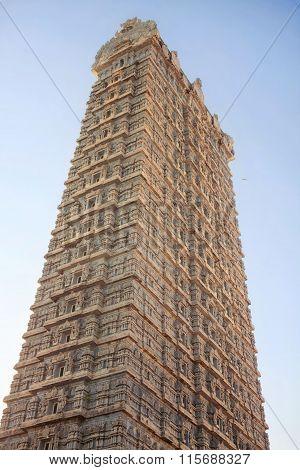 Gopuram Tower. Murdeshvar, India
