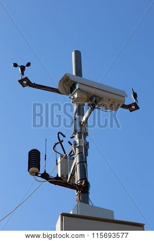 Video Camera And Weather Sensors