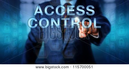 Data Owner Pushing Access Control Onscreen